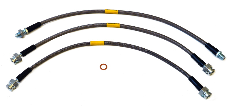 5cm For Land Rover Discovery 2 TD5 Raptor 4x4 Kit Of Brake Pipes