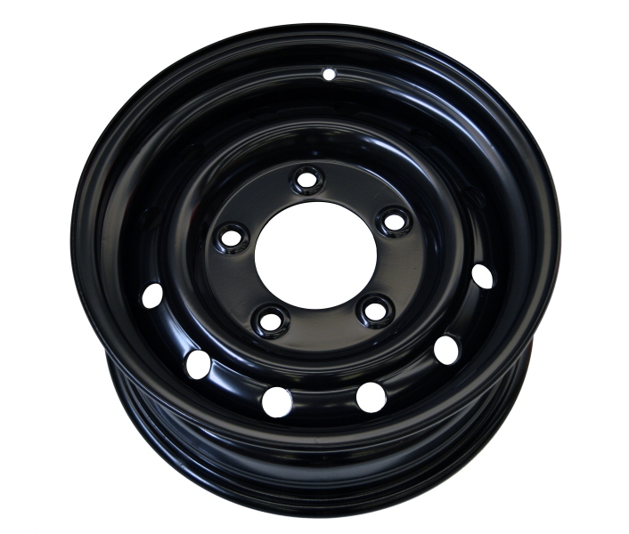 Wolf Steel Wheels 6 5x16 Et 20 Black For Land Rover Ty015518