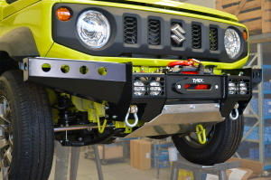 FRONT SQUARED WINCH BUMPER ST MODEL FOR JIMNY